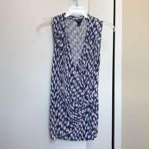 Ann Taylor Blue Tank Top